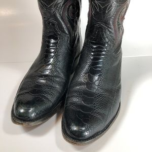 Panhandle Slim Shoes - Panhandle Slim Cowboy Boots Snakeskin Leather